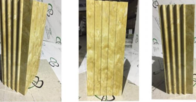 Cột đá vuông PVC – 05